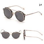 Men/Women 's Mirrored 100% UV400 Round Sunglasses
