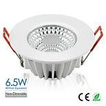 3inch 6.5W COB LED Recessed Downlight 40watt Equivalent AC100-240V Europe Hot Sale Energy Saving