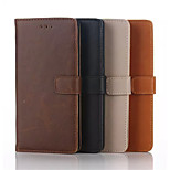 Crazy Horse Leather Case with Card Slot for Huawei P8 Assorted Colors