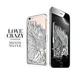 Angel Wings Back Cover Polycarbonate Protective Shell for iPhone 6 Plus