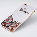 Msvii Personality relievo & colored drawing Cases/Covers for iphone6 plus