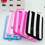 Double Color Vitoria Silica Gel Mobile Phone Shell for iPhone 4/4S (Assorted Colors)