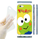 Cartoon Frog Pattern TPU Soft Back Case for iPhone 6