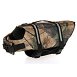 Oxford Cloth Camouflage Life Jacket for Dogs XS