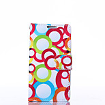 Bubble Pattern PU Leather Full Body Case with Stand for LG L70