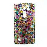Lovely Face  Pattern Glitter TPU Cell Phone Soft Shell For LG G4