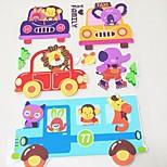 Small Animal 3D KS-04 Car Stickers