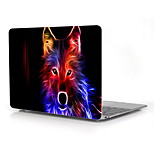 The Colorful Wolf Design Full-Body Protective Plastic Case for 12