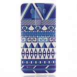 Stripe Pattern TPU Material Soft Phone Case for LG G3 Mini
