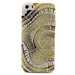 Ring Pattern TPU Material Phone Case for iPhone 5/5S