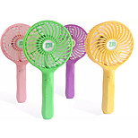 Novelty Handheld USB Mini Fan Air Cooler /Phone Charging Treasure(Assorted Color)