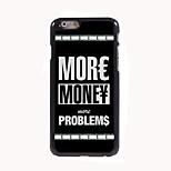 More Money Design Aluminum Hard Case for iPhone 6