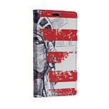 Statue of Liberty Pattern Full Body Case for Microsoft Lumia 640