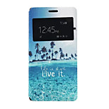 Like it Pattern PU Leather Phone Case for Sony Z4