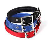 [BEJIARY]Nylon With Foam Collar , Dog Soft Collar With Belt Buckle RandomColor