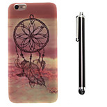 Dream Catcher Pattern TPU Soft Back and A Stylus Touch Pen for iPhone 6