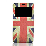 Special Design Of Graphic Intelligent Window Body Case Of the Pu leather Flip Phone Holster For Sony Xperia Z3mini/E3