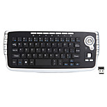 New 2.4G Wireless Keyboard Mouse Suit Air Flying Squirrels Smart TV Remote Control