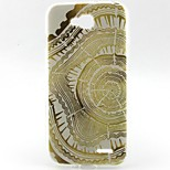 Disc Pattern TPU Material Soft Phone Case for LG L90 D405
