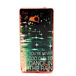Light Rain  Pattern TPU Phone Case for Nokia Microsoft Lumia 640
