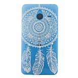 Campanula Pattern Slim TPU Material Soft Phone Case for Nokia 640 XL