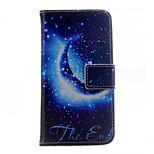 Mond Brieftasche Handyfall für iphone 6