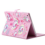 Folding Rhombus PU Leather Case with Stand for iPadmini 1/2/3(Assorted Colors)