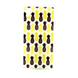 COCO FUN® Black & Yellow Pineapple Pattern Soft TPU IMD Back Case Cover for Sony M4