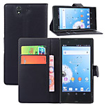 Litchi Around Open Bracket Leather Phone Wallet Card Suitable for Sony Xperia Z/L36h(Assorted Color)