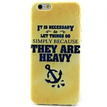 Anchors Pattern TPU Material Phone Case for iPhone 6