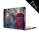Telefonzelle Design Ganzkörper-Schutzhülle für MacBook Pro 13
