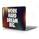 Work Hard and Dream Big Design Full-Body Protective Plastic Case for 12