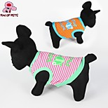 FUN OF PETS® Cute Heart Pattern Strap Shirt for Pets Dogs (Assorted colours,Sizes)