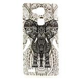 Line elephant  Pattern TPU Soft Case for Huawei Mate 7