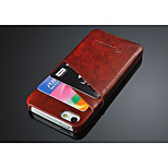 Hot selling card slots for iphone 6 case back cover