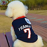 FUN OF PETS® Fashionable France Football Team Pattern Vest for Pet Dogs(Assorted Sizes)