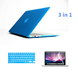 3 in 1 Full Body Hard Cases with Keyboard Flim and HD Screen Protector for Macbook Retina 13.3