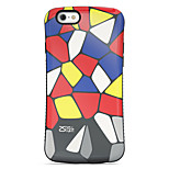 Colorful  Pattern PC + TPU Drop Resistance  Phone Shell For iPhone 6