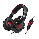 Rattlesnake professional e-sport game headphones notebook computer desktop computer Wired Noise Cancelling earphones