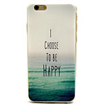 Sea Pattern TPU Material Phone Case for iPhone 6