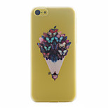 Butterfly Pattern PC Material Phone Case for iphone 5C