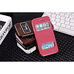 PU Specially Designed Full Body Cases for iPhone 5/5s (Assorted Color)