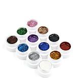 Nail Systems  Glitters Gel Color Kits(12PCS*8ml)
