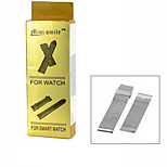 Mini smile™ Stainless Steel Coarse Mesh Watchband without Attachment for APPLE WATCH - Silver