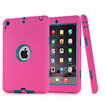 3 in 1 Combo Wave Pattern PC & Silicone Case with Stand for iPad Air 2
