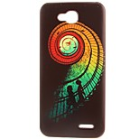 Stairs Pattern TPU Material Soft Phone Case for LG L90 D405