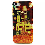 Like Themselves Pattern TPU Painted Soft Back Cover for iPhone 5/5S
