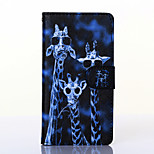 Crazy Deers Pattern PU Leather Full Body Case with Stand for Wiko Rainbow
