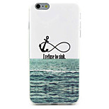 Sea  Pattern IMD + TPU Phone Case For iPhone 6  Plus