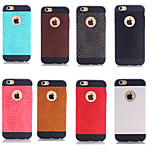 The Crocodile Grain Design TPU Case for iPhone 6 Plus(Assorted Color)
